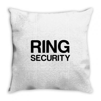 Wedding Ring Security Throw Pillow Designed By Perfect Designers