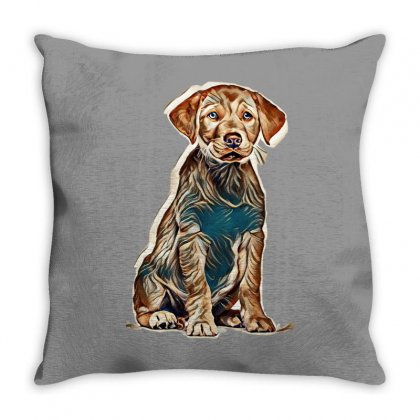 My Pets Throw Pillow Designed By Kemnabi