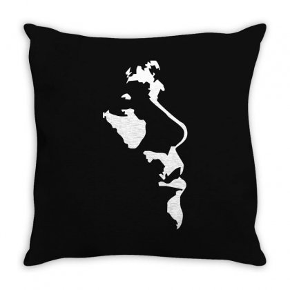 Ian Brown The Stone Roses Indie Music God Throw Pillow Designed By Ismi