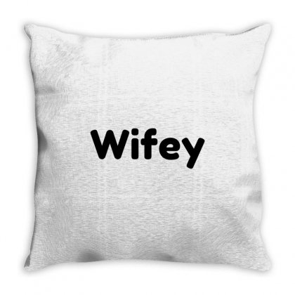 Wifey Throw Pillow Designed By Perfect Designers