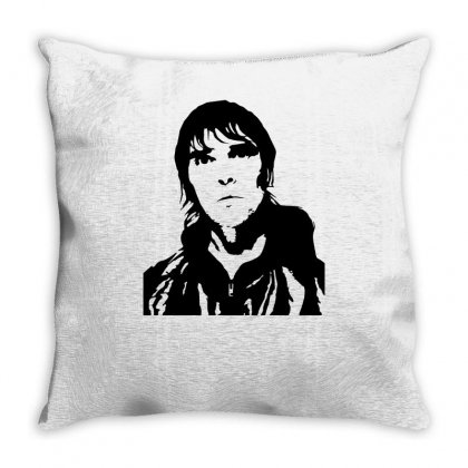 Ian Brown Throw Pillow Designed By Ismi