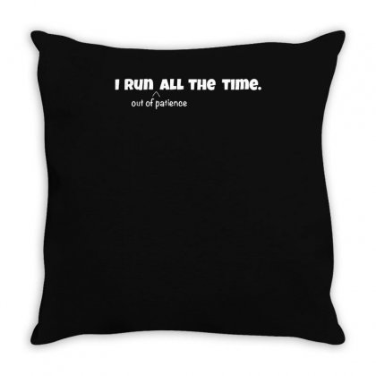 Always Running Throw Pillow Designed By Achreart
