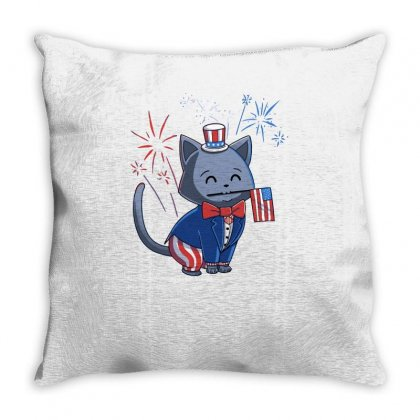Ameowica Throw Pillow Designed By Achreart