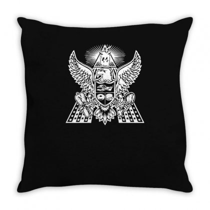 America Food Yeah! Throw Pillow Designed By Achreart