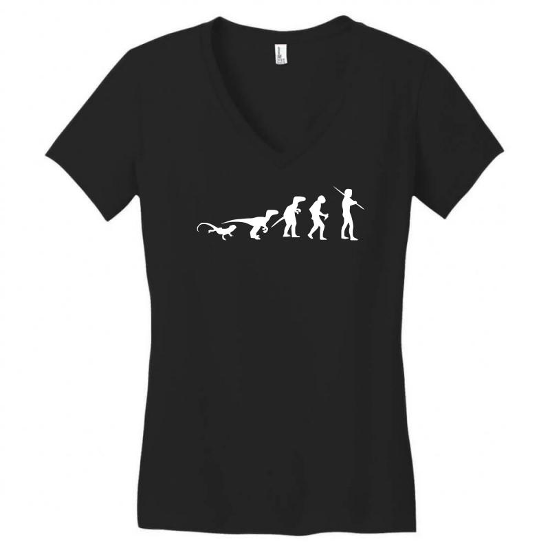 Icke Evolution Women's V-neck T-shirt | Artistshot