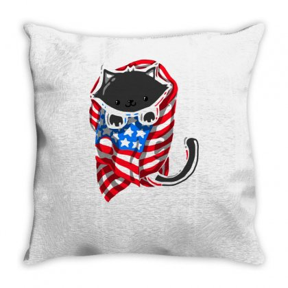 Amewrica! Throw Pillow Designed By Achreart