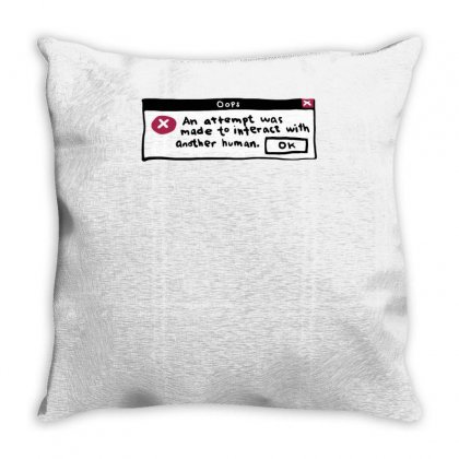 An Attempt Was Made Throw Pillow Designed By Achreart