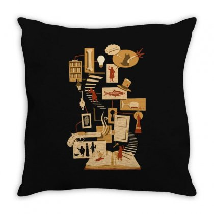An Unfolding Mystery Throw Pillow Designed By Achreart