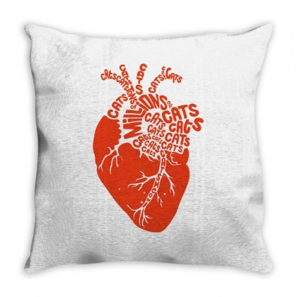 Anatomicat Throw Pillow Designed By Achreart