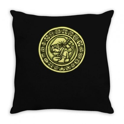 Ancient Codex Throw Pillow Designed By Achreart