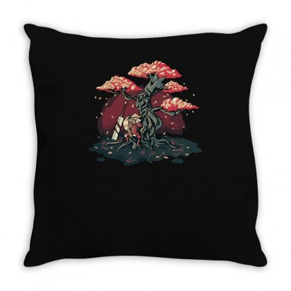 Ancient Guardians Throw Pillow Designed By Achreart