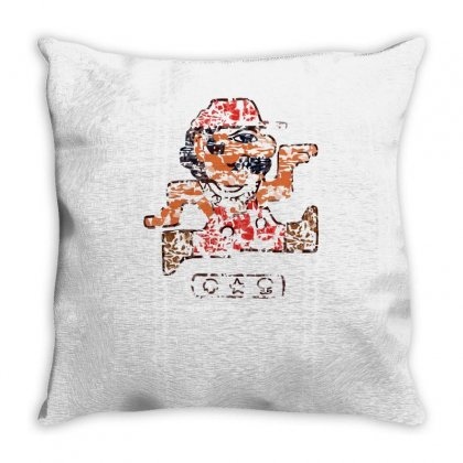 Ancient Egyptian Plumber Throw Pillow Designed By Achreart