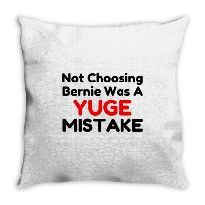 Yuge Mistake Throw Pillow Designed By Perfect Designers