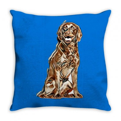 My Dog Is Cutest Throw Pillow Designed By Kemnabi