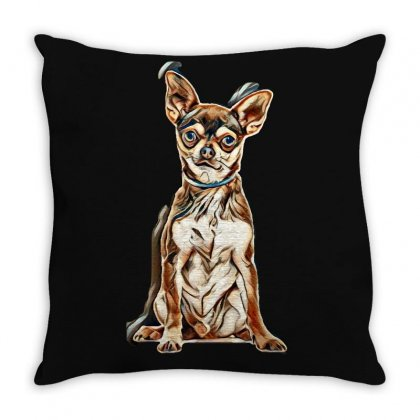 Dog Life Throw Pillow Designed By Kemnabi