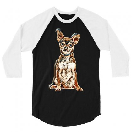Dog Life 3/4 Sleeve Shirt Designed By Kemnabi