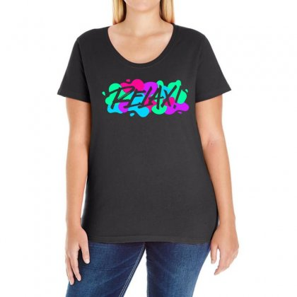 Relax Ladies Curvy T-shirt Designed By Fejena