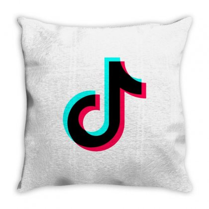 Musicaly Throw Pillow Designed By Balqis Tees