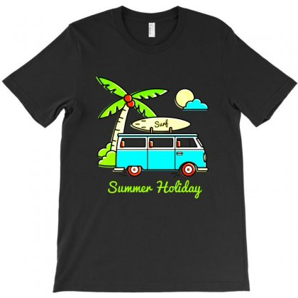 Summer Holiday Combi T-shirt Designed By Fejena