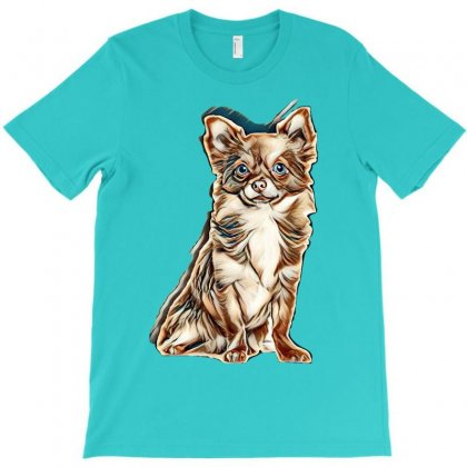 Love My Dogs T-shirt Designed By Kemnabi