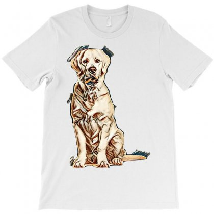 Love Puppies T-shirt Designed By Kemnabi