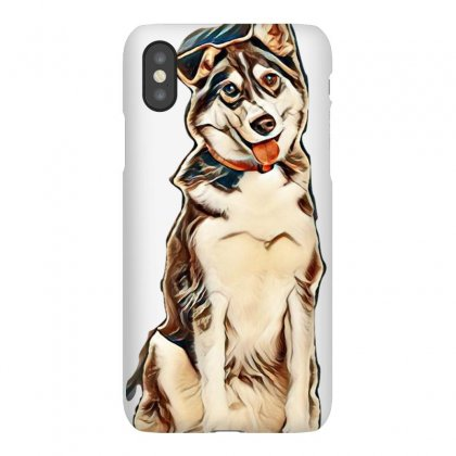 Cute Dogs Iphonex Case Designed By Kemnabi