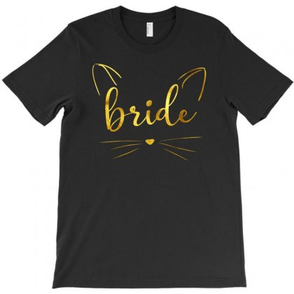 Bride Cat T-shirt Designed By Sengul