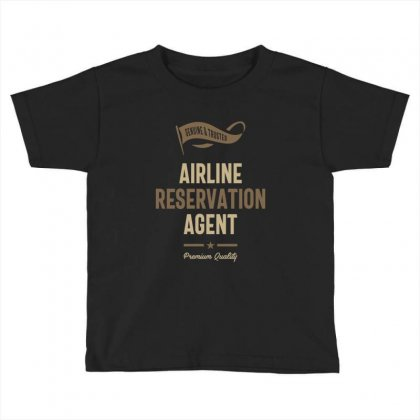 Airline Reservation Agent Toddler T-shirt Designed By Cidolopez