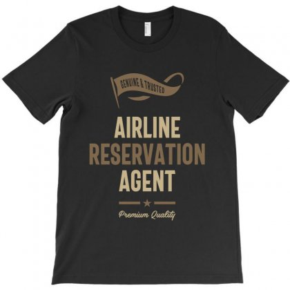 Airline Reservation Agent T-shirt Designed By Cidolopez
