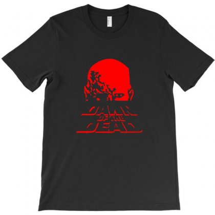 Dawn Of The Dead Retro 70s Horror Zombie Film T-shirt Designed By Teeshop
