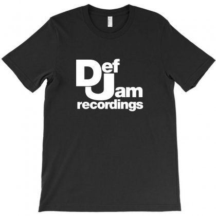 Def Jam Recordings T-shirt Designed By Teeshop