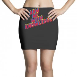 arm me with knowledge Mini Skirts | Artistshot