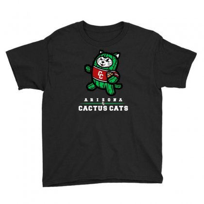 Arizona Cactus Cats Youth Tee Designed By Achreart