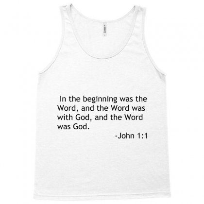 Bible Quote John Tank Top Designed By Perfect Designers