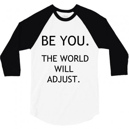 Be You 3/4 Sleeve Shirt Designed By Perfect Designers