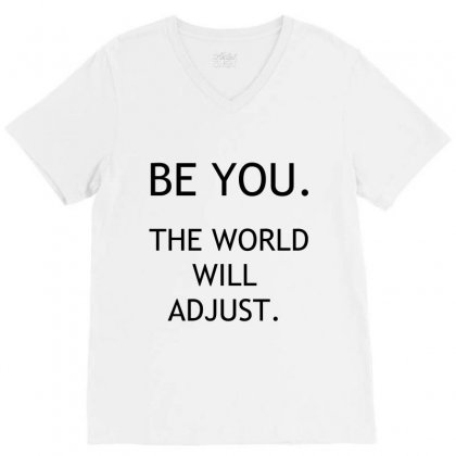 Be You V-neck Tee Designed By Perfect Designers