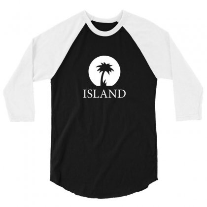 Island Records 3/4 Sleeve Shirt Designed By Lyly