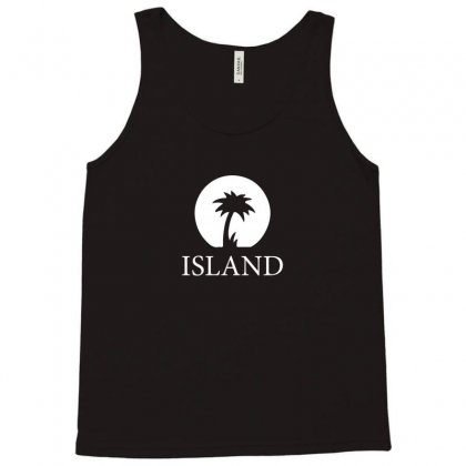 Island Records Tank Top Designed By Lyly