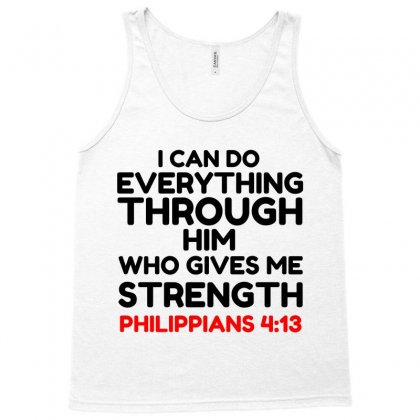 Bible Quote Tank Top Designed By Perfect Designers