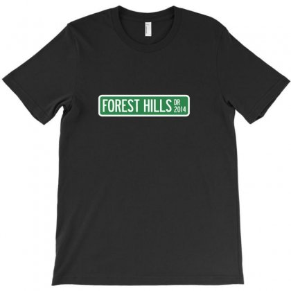 J Cole Forest Hills Drive Logo T-shirt Designed By Lyly