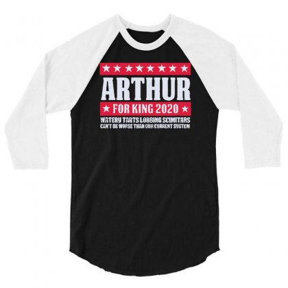 Arthur 2020 3/4 Sleeve Shirt Designed By Achreart