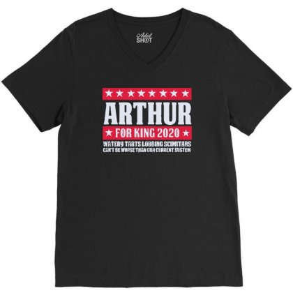 Arthur 2020 V-neck Tee Designed By Achreart