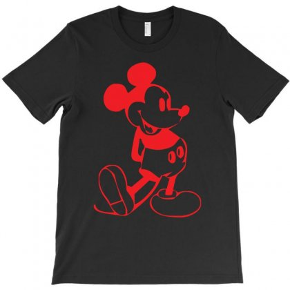 Mickey Mouse   Screen Print T-shirt Designed By Z4hr4
