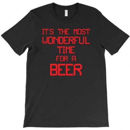 Most Wonderful Time For A Beer T-shirt Designed By Z4hr4