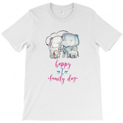 Happy 1. Family Day T-shirt Designed By Seda