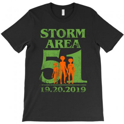 Storm Area 51 Alien T-shirt Designed By Sengul