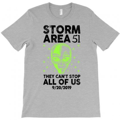 Alien Storm Area For Light T-shirt Designed By Sengul