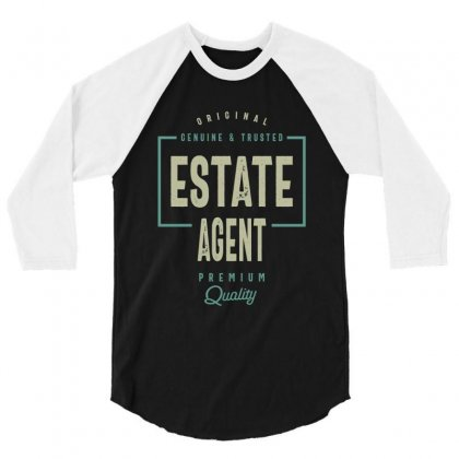 Estate Agent 3/4 Sleeve Shirt Designed By Cidolopez