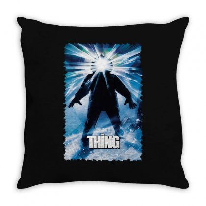 John Carpenter's The Thing Throw Pillow Designed By Fanshirt