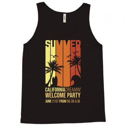 California Dremin Welcome Party Tank Top Designed By Tudtoojung